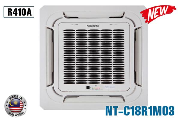Điều hòa âm trần Nagakawa NT-C18R1M03 18000BTU 1 chiều