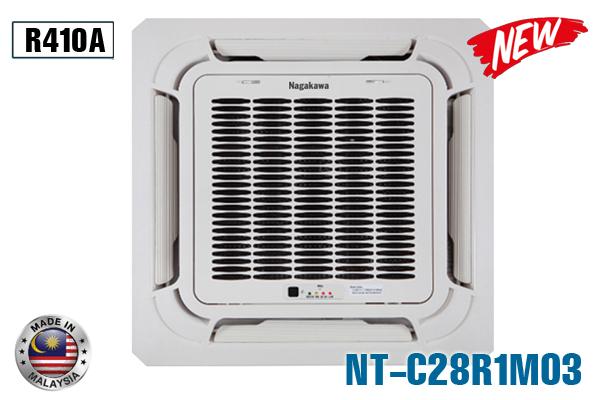 Điều hòa âm trần Nagakawa NT-C28R1M03 28000BTU 1 chiều