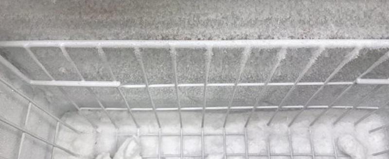 Bộ phận xả đá bị hỏng và dàn bị đóng tuyết