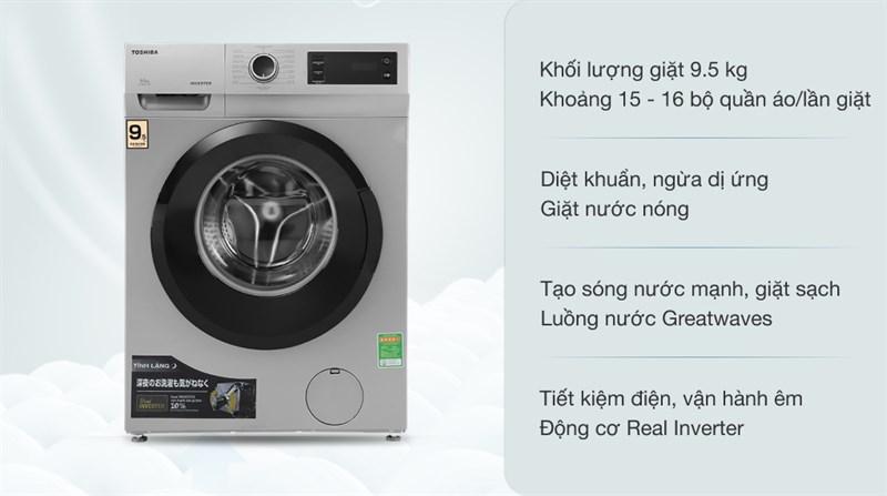 Đa dạng khối lượng giặt