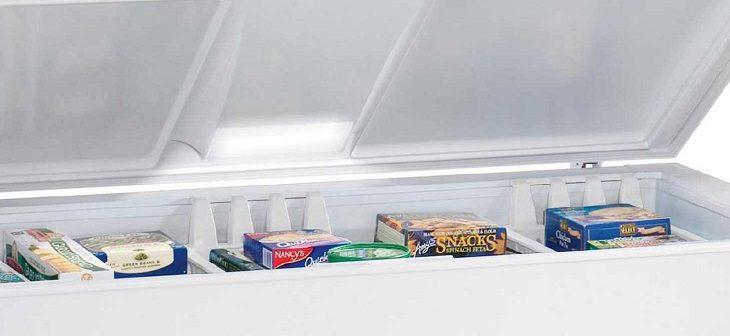 Đèn báo trong tủ đông không sáng