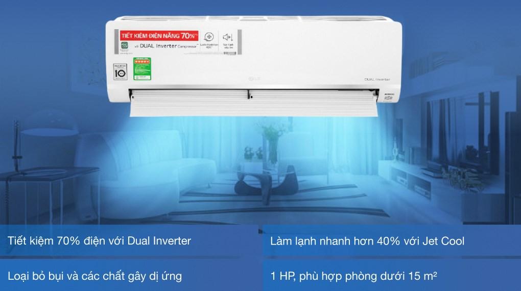 Điều hòa LG V10API1 tính năng nổi bật