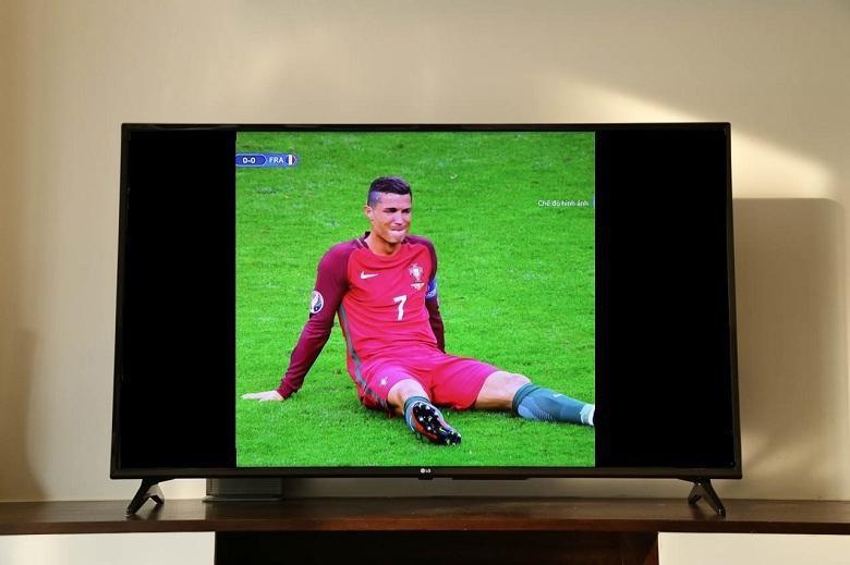 Lỗi hình ảnh trên tivi bị giãn, phóng to