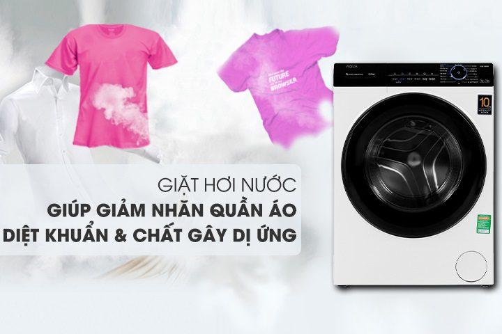 Máy giặt AQua trang bị nhiều công nghệ tiên tiến