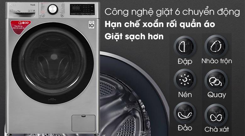 Máy giặt LG FV1409S2V