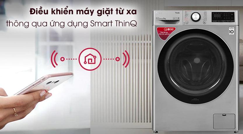 Máy giặt LG điều khiển từ xa qua Smart-ThinQ