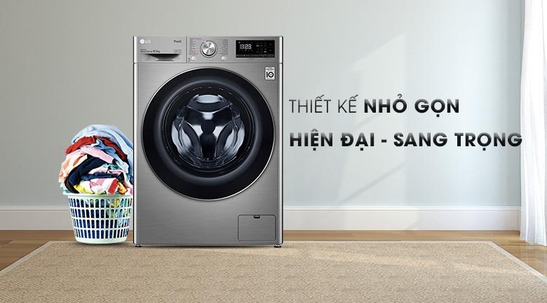Máy giặt LG thiết kế hiện đại-nhỏ gọn