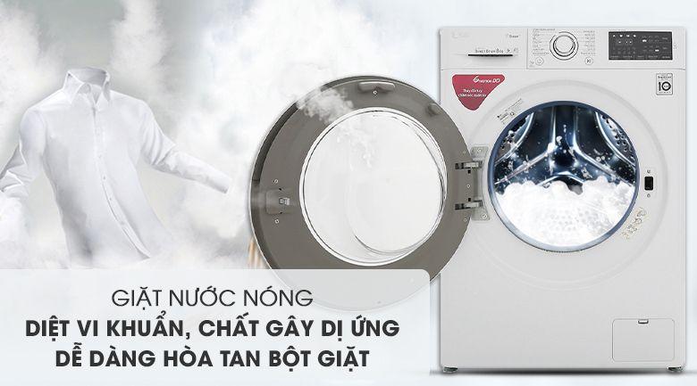 Máy giặt LG tính năng hữu ích