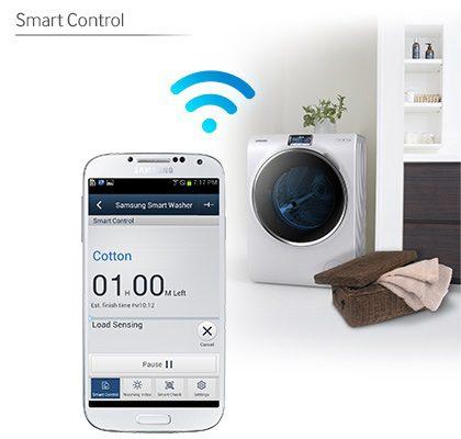 Máy giặt Samsung smart control wifi