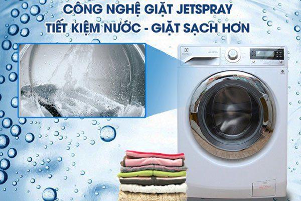 Máy giặt electrolux Jetspray