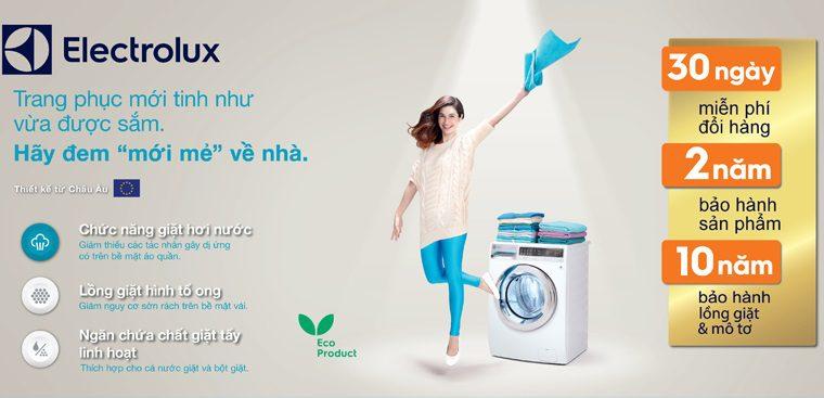Thời gian bảo hành máy giặt Electrolux