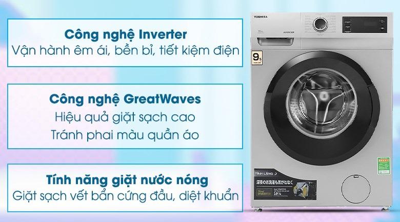 Tính năng nổi bật máy giặt Toshiba TW-BH95S2V WK