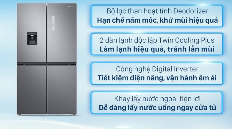 Tính năng tủ lạnh Samsung multidoor