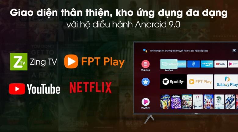 Tivi Casper Kho ứng dụng đa dạng và phong phú