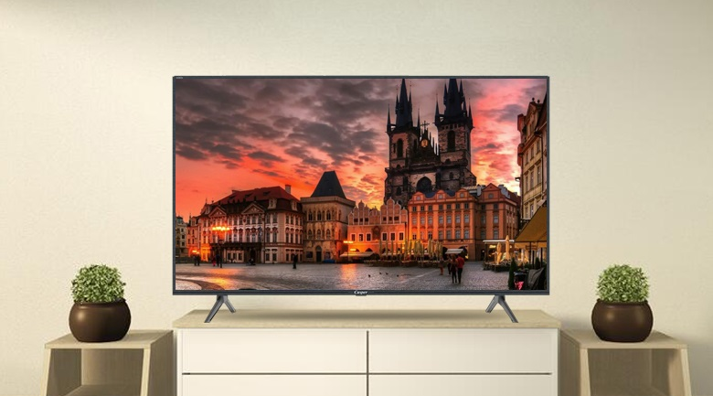 Tivi casper thiết kế tivi mỏng - sang trọng