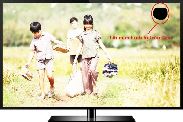 Trên màn hình có lỗi nốt đen to