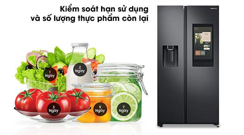 Tủ lạnh Samsung thông minh 2