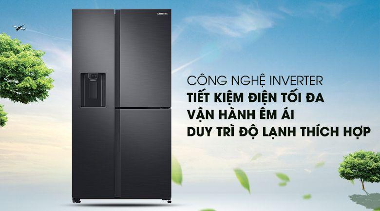 Tủ lạnh side by side Samsung Tiết kiệm điện tối đa