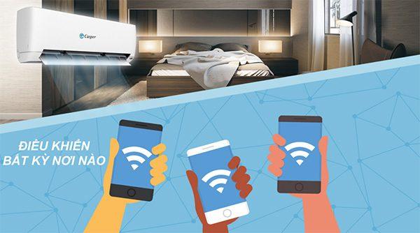 Hướng dẫn cài đặt Wifi điều khiển điều hòa Casper bằng điện thoại