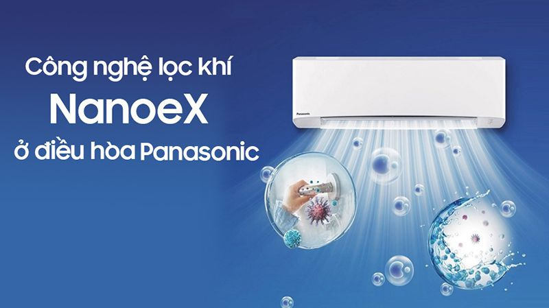 Bộ lọc Nanoe-G trên điều hòa Panasonic có ưu điểm gì?