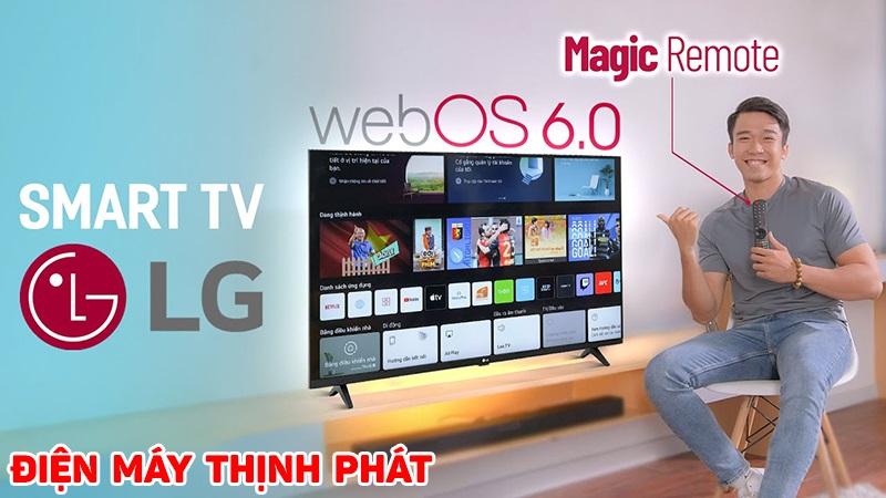 tivi lg WebOS 6.0