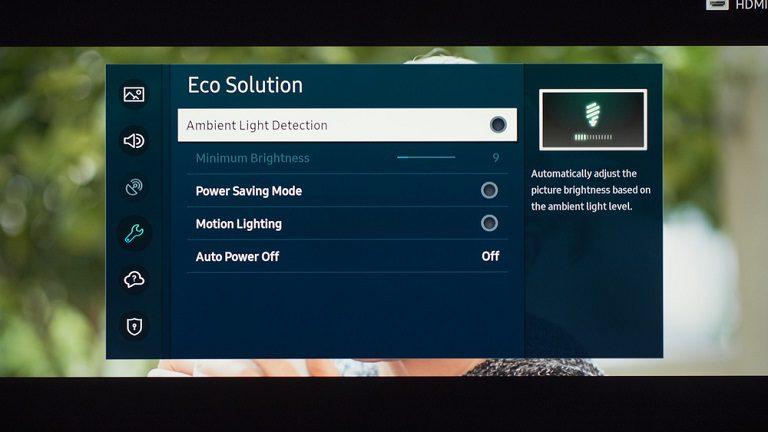 Cách bật Power saving mode trên tivi samsung