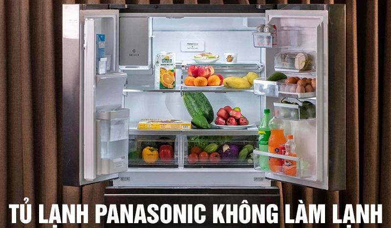 Những lỗi hay gặp ở tủ lạnh Panasonic – nguyên nhân và cách khắc phục