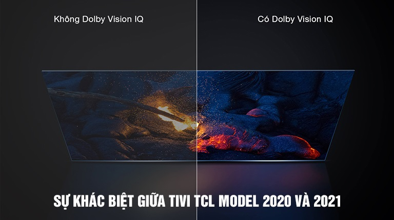Sự khác biệt giữa Tivi TCL 2020 và 2021