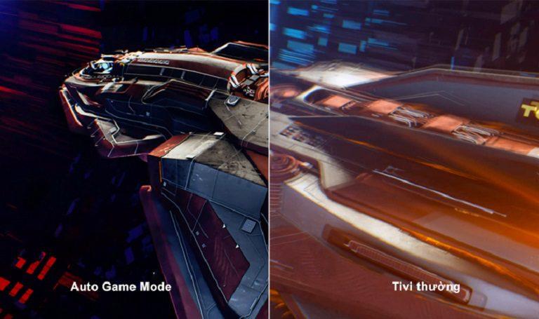Tivi TCL chế độ Auto Game Mode