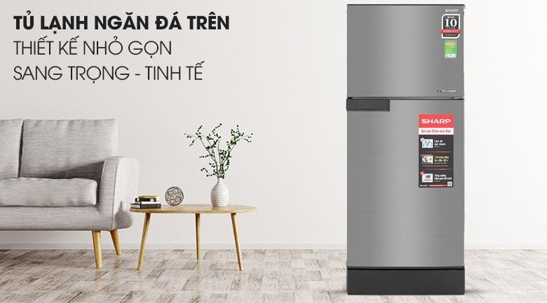 Tủ lạnh Sharp đa dạng về dung tích