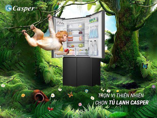 Tủ lạnh Casper tự nhiên