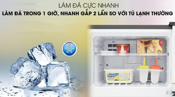 Tủ lạnh Sharp tính năng làm đá cực nhanh