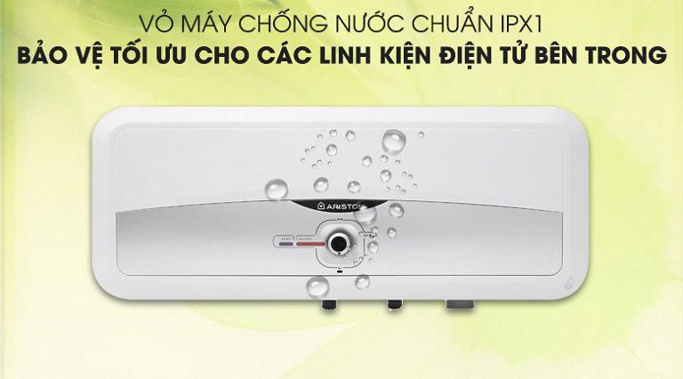 thinh-phat-Bình nóng lạnh Ariston công nghệ chống nước IPX1