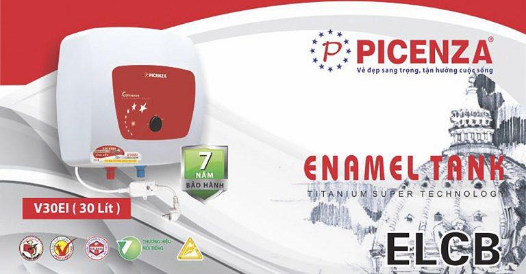 thinh-phat-Bình nóng lạnh Picenza chống giật ELCB