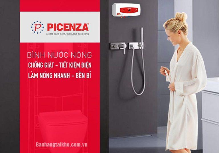 thinh-phat-Bình nóng lạnh Picenza tính năng