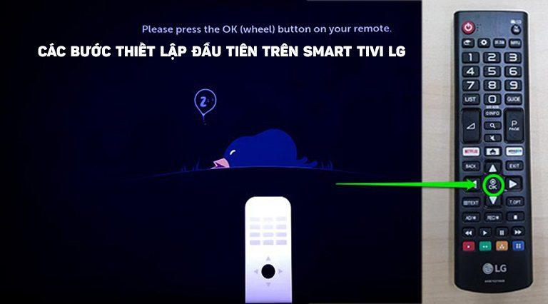 thinh-phat-Các bước thiết lập đầu tiên trên Smart tivi LG