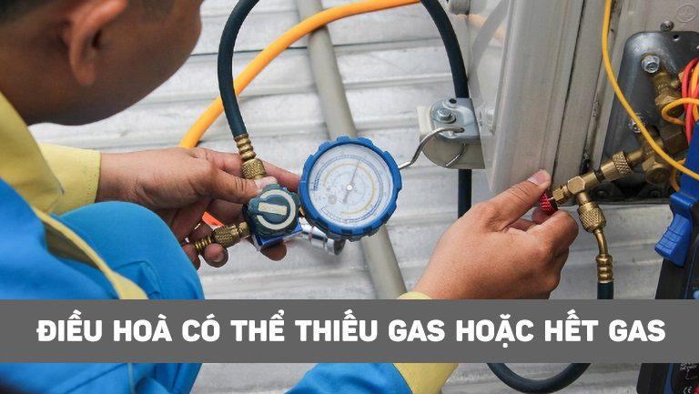 thinh-phat-Điều hoà có thể thiếu gas hoặc hết gas
