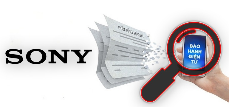 Hướng dẫn tra cứu thông tin bảo hành tivi Sony