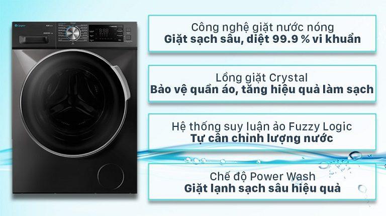 thinh-phat-Máy giặt Casper cửa trước