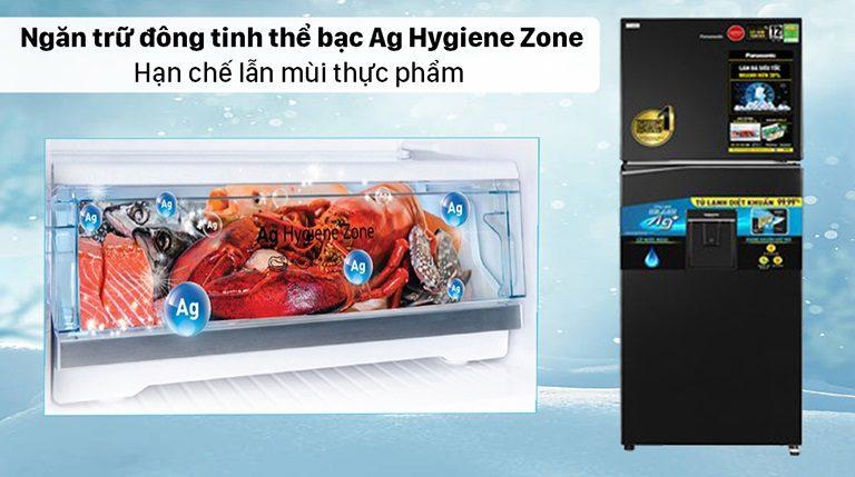 thinh-phat-Ngăn trữ đông tinh thể bạc trên tủ lạnh Panasonic là gì