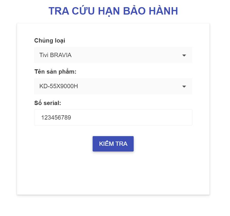 thinh-phat-Tra cứu hạn bảo hành Tivi Sony