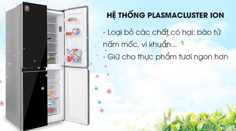tủ lạnh sharp plasmacluster