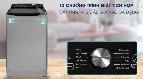 AQW-FR110GT.PS, chu trình giặt đa dạng