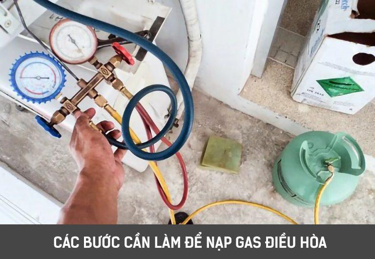 thinh-phat-Các bước cần làm để nạp gas điều hòa