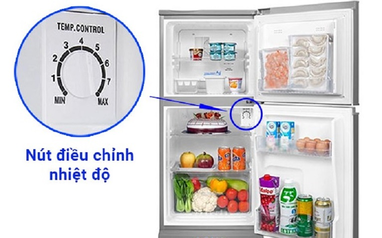 thinh-phat-Điều chỉnh nhiệt độ phù hợp tủ lạnh