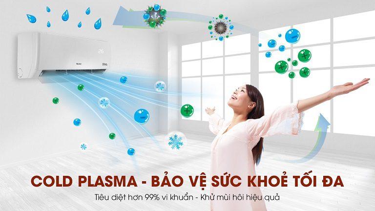 thinh-phat-Điều hòa Gree GWH12PB-K6D1P4 diệt khuẩn