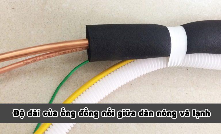 thinh-phat-Độ dài của ống đồng nối giữa 2 dàn nóng và lạnh