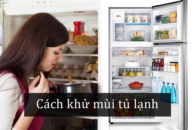 thinh-phat-Loại bỏ mùi hôi cho tủ lạnh