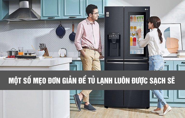Một số mẹo đơn giản để tủ lạnh luôn được sạch sẽ