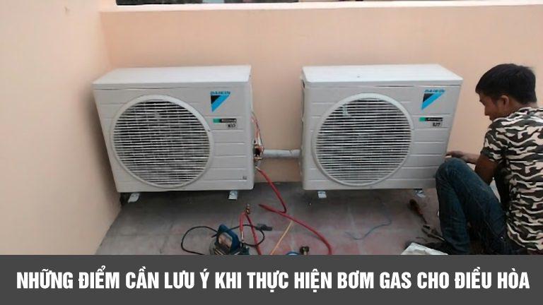 thinh-phat-Những điểm cần lưu ý khi thực hiện bơm gas cho điều hòa
